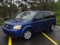 Dodge Grand Caravan navy blue